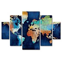 Trademark Fine Art ''Seasons Change'' 5-piece Canvas Wall Art Set