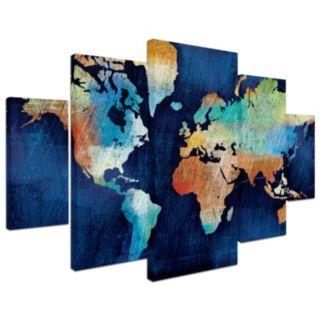 Trademark Fine Art ''Seasons Change'' 5-piece Canvas Wall Art Set