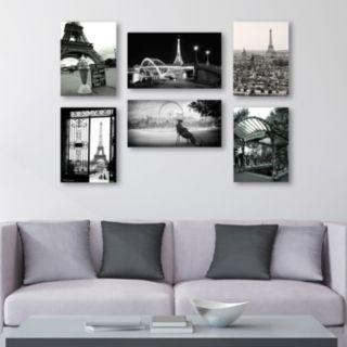 Trademark Fine Art ''Paris'' 6-piece Canvas Wall Art Set