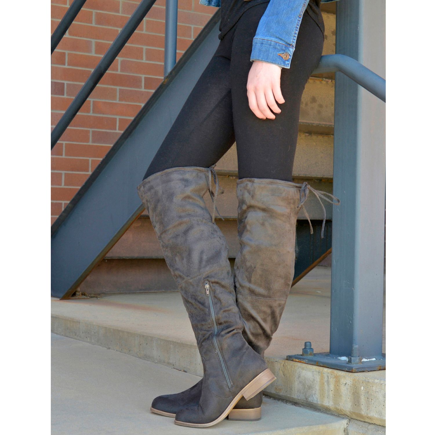 128a7dcb696 Womens Over-the-Knee Boots - Shoes