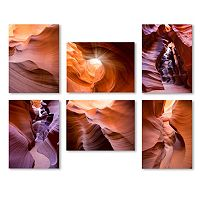 Trademark Fine Art ''Rocks'' 6-piece Canvas Wall Art Set