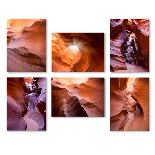 Trademark Fine Art ''Rocks'' 6-piece Canvas Wall Art Set