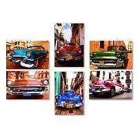 Trademark Fine Art ''Classic Cars'' 6 pc Canvas Wall Art Set
