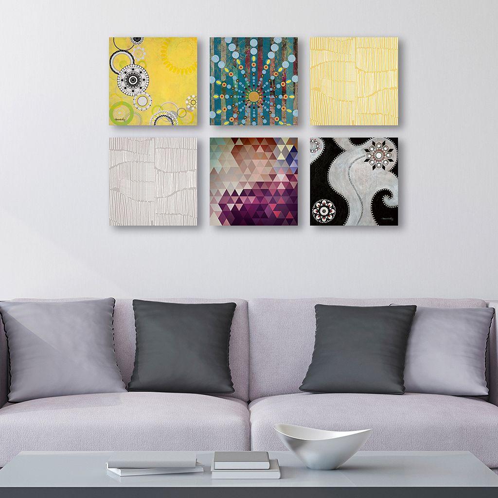 Trademark Fine Art ''Abstract'' 6-piece Canvas Wall Art Set