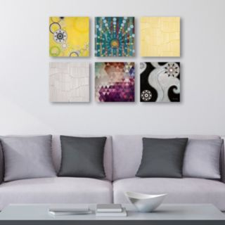 Trademark Fine Art ''Abstract'' 6-piece Canvas Wall Art Set