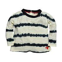 Baby Girl Burt's Bees Baby Tie-Dye Stripe Tunic