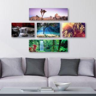 Trademark Fine Art ''Nature'' Canvas Wall Art Set