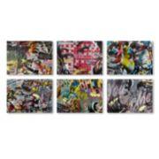 Trademark Fine Art Dan Monteavaro 6-piece Canvas Wall Art Set