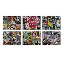 Trademark Fine Art Dan Monteavaro 6-piece Canvas Wall Art Set