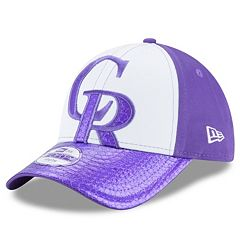 Youth New Era Colorado Rockies 9FORTY Glimmer Glitz Adjustable Cap