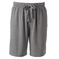 Men's Croft & Barrow Solid Knit Jams Shorts