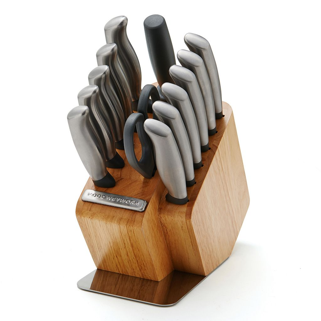 Food Network™ 14-pc. Stamped Hollow-Handle Cutlery Set