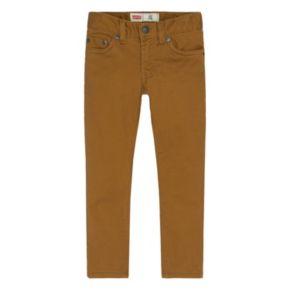 Boys 4-7x Levi's Slim-Fit Sueded Pants