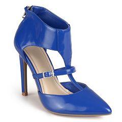 Journee Collection Qhanzl Women's T-Strap High Heels