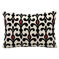 Kathy Ireland Abstract Fleur De Lis Throw Pillow