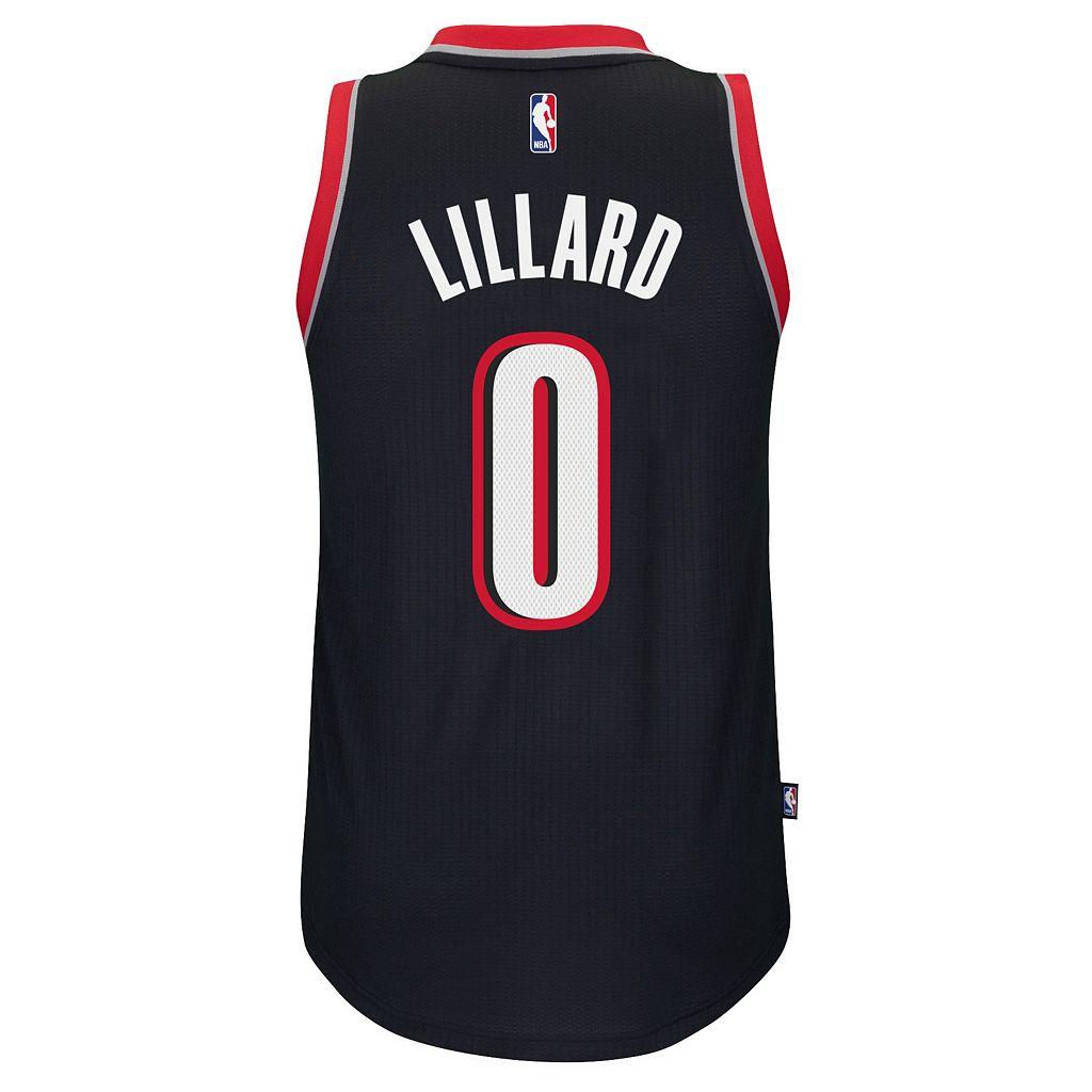Men's adidas Portland Trail Blazers Damian Lillard Jersey