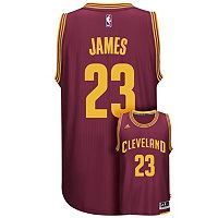 Men's adidas Cleveland Cavaliers LeBron James Jersey