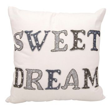 Kathy Ireland ''Sweet Dream'' Throw Pillow