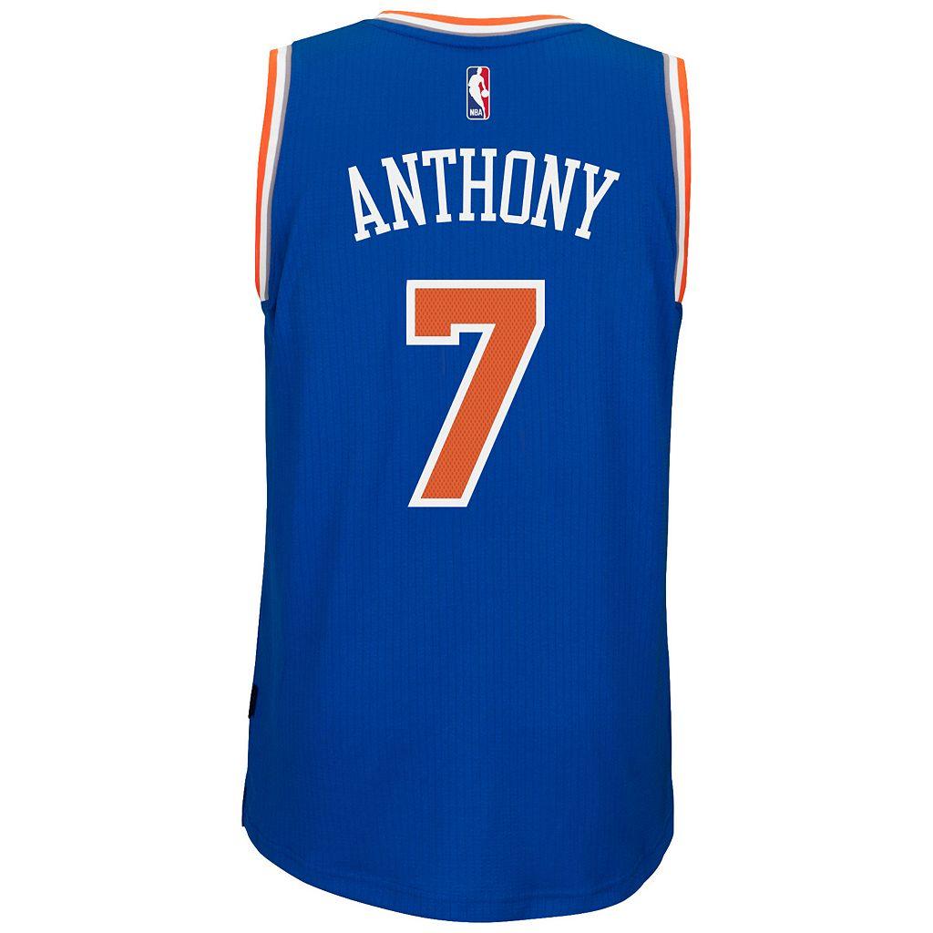 Men's adidas New York Knicks Carmelo Anthony Swingman Jersey
