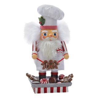 Kurt Adler Hollywood Santa Gingerbread Chef Nutcracker