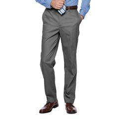 Men's Croft & Barrow® Classic-Fit Flat-Front No-Iron Stretch Pants