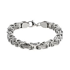 FOCUS FOR MEN Stainless Steel Chain Bracelet