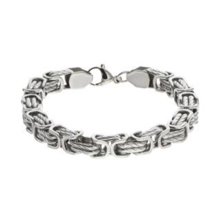 FOCUS FOR MEN Stainless Steel Chain Bracelet