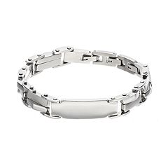 FOCUS FOR MEN Stainless Steel ID Bracelet