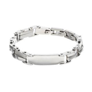 FOCUS FOR MEN Stainless Steel ID Bracelet