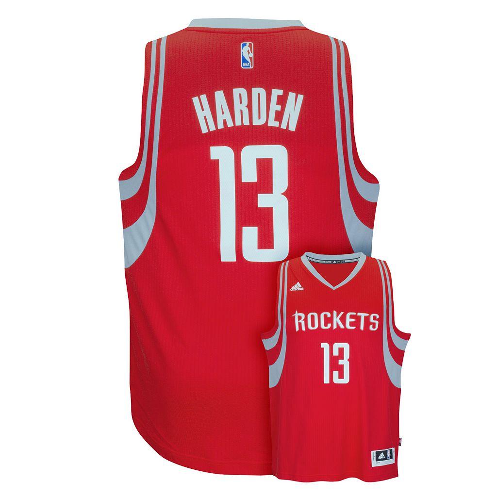 Men's adidas Houston Rockets James Harden Replica Jersey