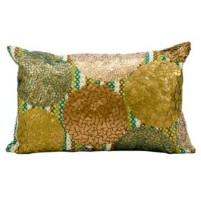 Kathy Ireland Abstract Oblong Throw Pillow