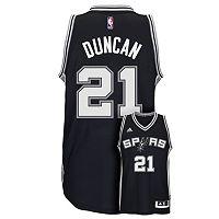 Men's adidas San Antonio Spurs Tim Duncan Jersey