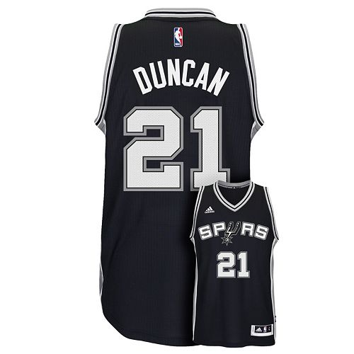 promo code 6e17b d2f93 Men's adidas San Antonio Spurs Tim Duncan Jersey