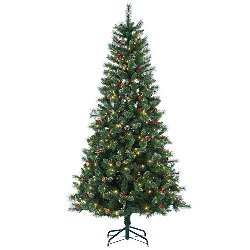 Sterling 7.5' Hard/Mixed Needle Briarwood Pine Artificial Christmas Tree