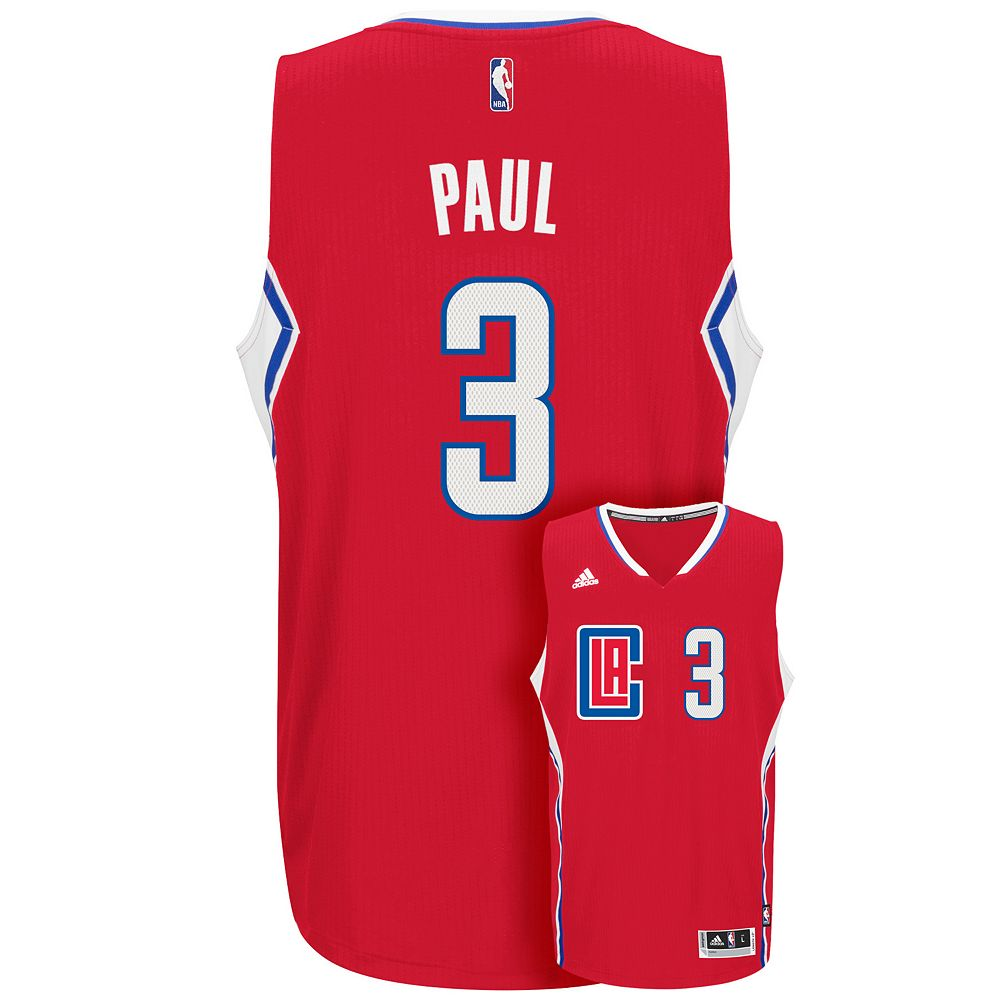 reputable site f0f60 026f7 Men's adidas Los Angeles Clippers Chris Paul Jersey
