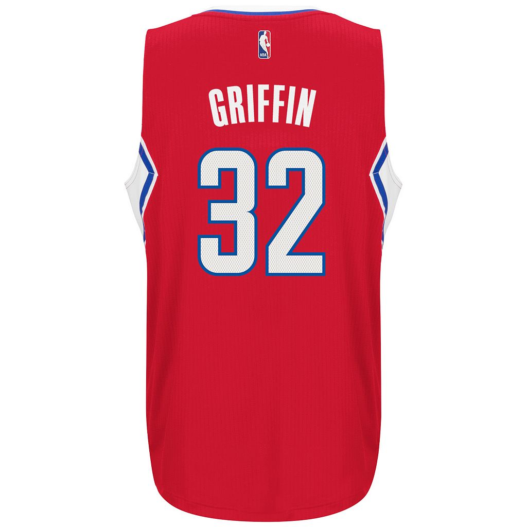 Men's adidas Los Angeles Clippers Blake Griffin Jersey