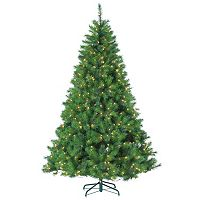 Sterling 7.5' Hard/Mixed Needle Wisconsin Spruce Artificial Christmas Tree