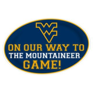West Virginia Mountaineers Jumbo Game-Day Peel & Stick Wall Decal
