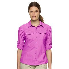 Women's Columbia Amberley Stream Roll-Tab Shirt