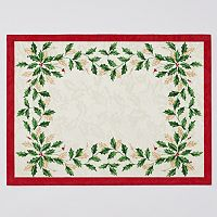 Lenox 4 pc Holiday Placemat Set