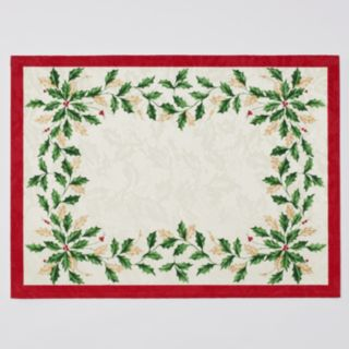 Lenox 4-pc. Holiday Placemat Set