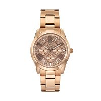 Jennifer Lopez Women's Rosie Crystal Stainless Steel Watch