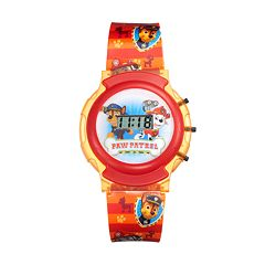 Paw Patrol Kids' Marshall & Chase Digital Light-Up Watch
