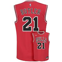 adidas Men's Chicago Bulls Jimmy Butler Replica Jersey