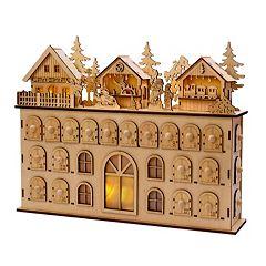 LED Wooden Advent Calendar