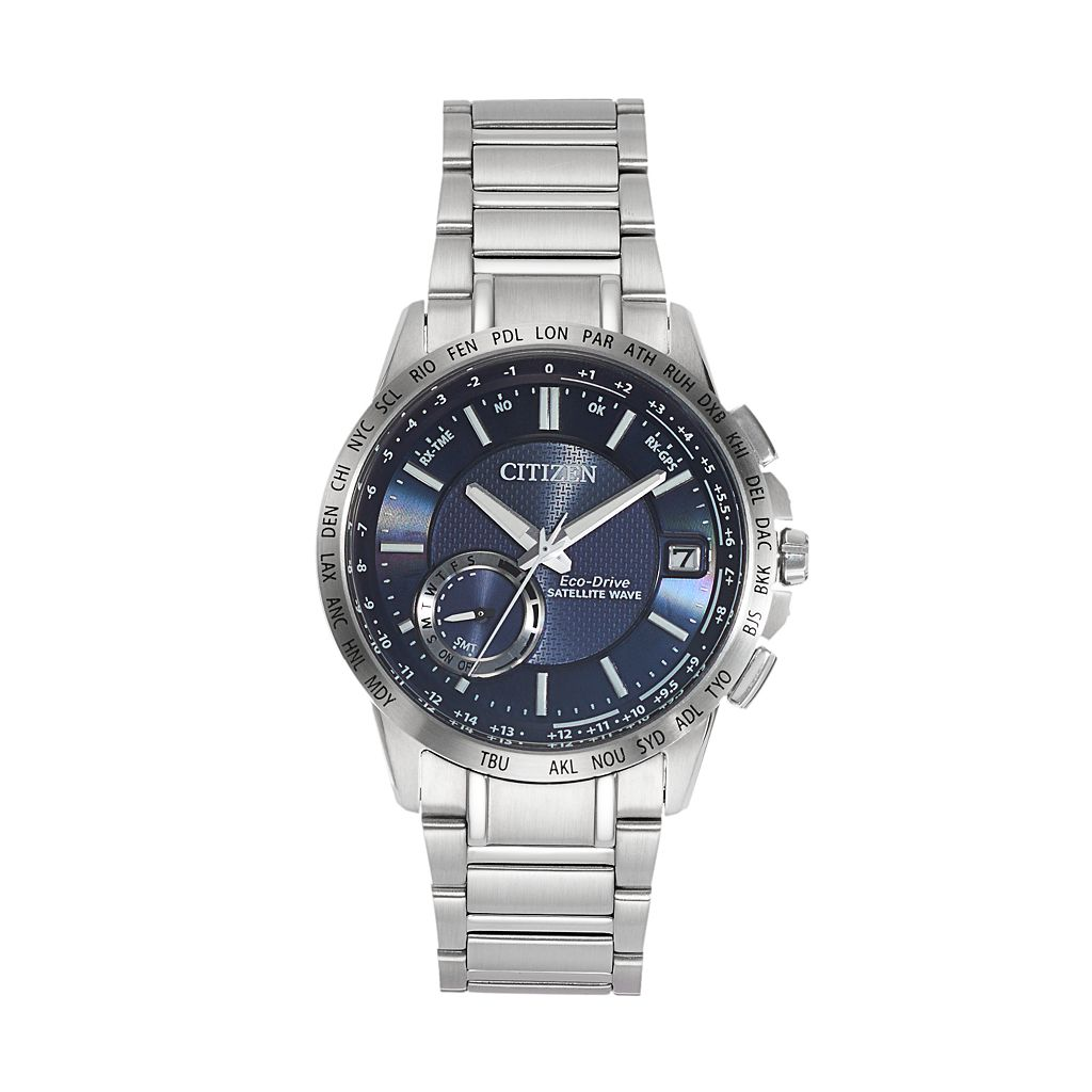 Citizen Eco-Drive Men's Satellite Wave Stainless Steel GPS Watch - CC3000-89L