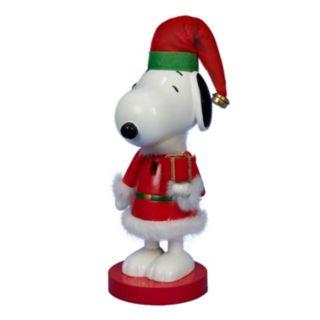 Peanuts Snoopy Santa Suit Nutcracker