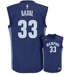 Men's adidas Memphis Grizzlies Marc Gasol Replica Jersey