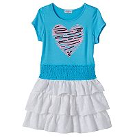 Design 365 Girls 4-6x Sequin Heart Dress