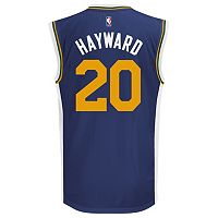 Men's adidas Utah Jazz Gordon Hayward Replica Jersey